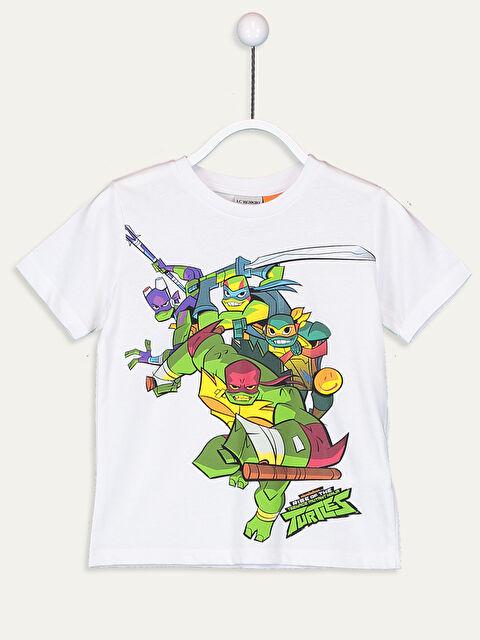Erkek Çocuk Ninja Kaplumbağalar Pamuklu Tişört - LC WAIKIKI