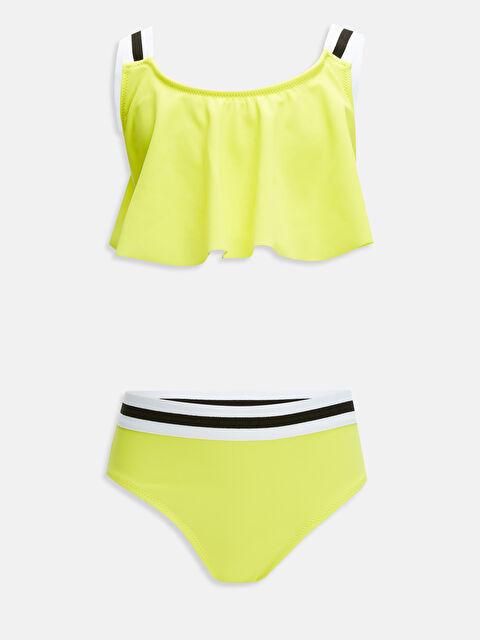 Kız Çocuk Volanlı Bikini - LC WAIKIKI