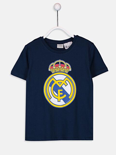 Erkek Çocuk Real Madrid Pamuklu Tişört - LC WAIKIKI