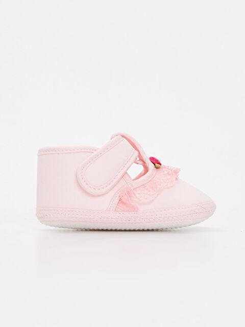 Kız Bebek Cırt Cırtlı Ayakkabı - LC WAIKIKI