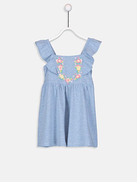 Kız Bebek Nakışlı Elbise - LC WAIKIKI