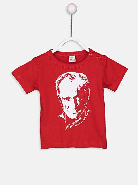 Erkek Bebek Atatürk Baskılı Tişört - LC WAIKIKI
