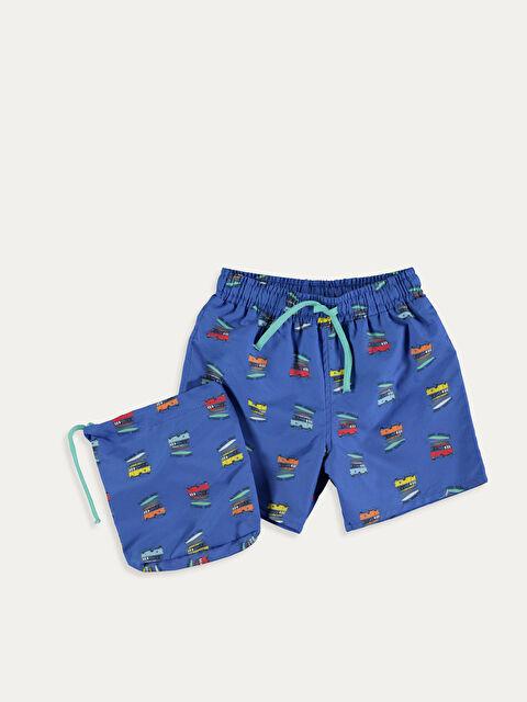 Erkek Bebek Desenli Yüzme Şort - LC WAIKIKI