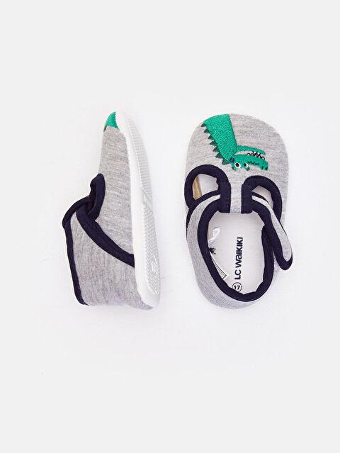 Erkek Bebek Cırt Cırtlı Ayakkabı - LC WAIKIKI