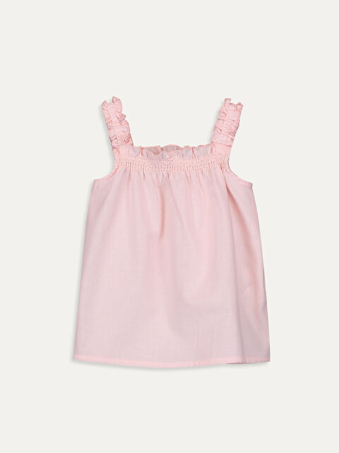 Kız Bebek Poplin Bluz - LC WAIKIKI