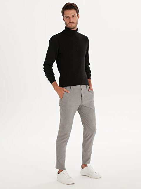 Slim Fit Poliviskon Bilek Boy Pantolon - LC WAIKIKI