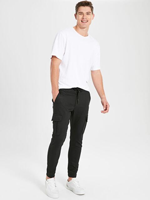 Skinny Fit Gabardin Jogger Pantolon - LC WAIKIKI