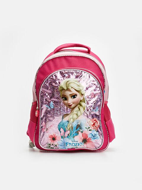 Kız Çocuk Frozen Elsa Sırt Çantası - LC WAIKIKI