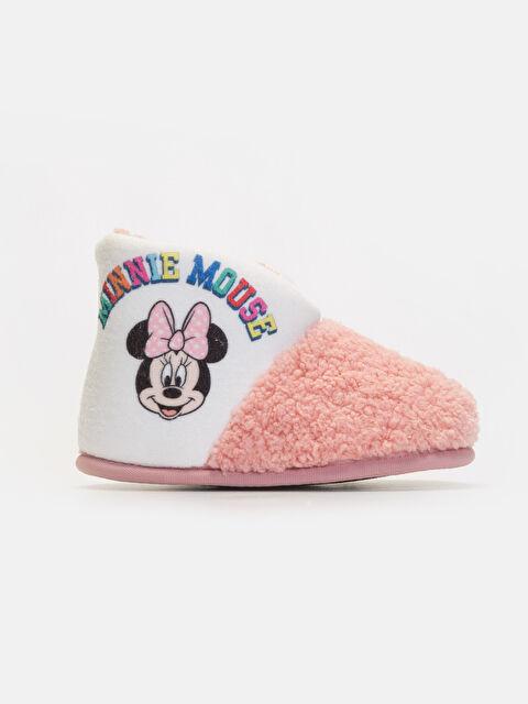 Kız Çocuk Minnie Mouse Baskılı Panduf - LC WAIKIKI