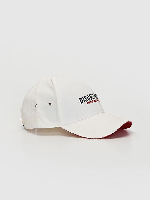 Yazı Nakışlı Şapka - LC WAIKIKI