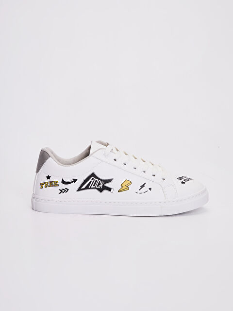 Erkek Baskılı Sneaker - LC WAIKIKI