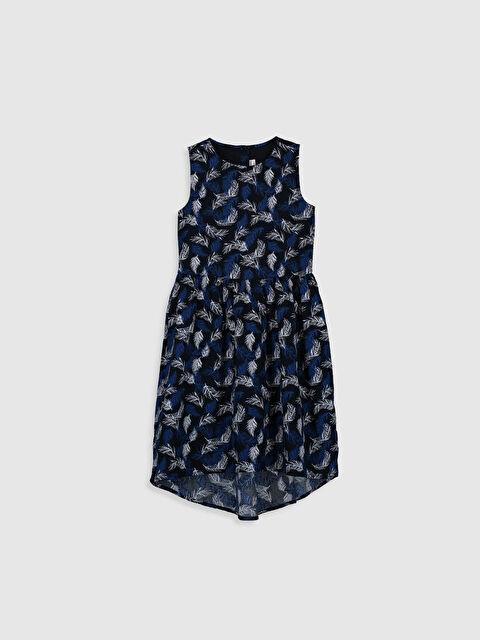 Aile Koleksiyonu Kız Çocuk Desenli Pamuklu Elbise - LC WAIKIKI