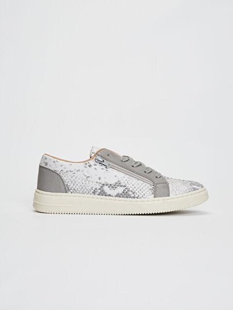 Erkek Fermuar Detaylı Sneaker - LC WAIKIKI