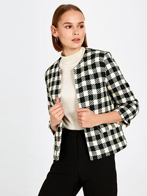 Kaz Ayağı Desenli Blazer Ceket - LC WAIKIKI