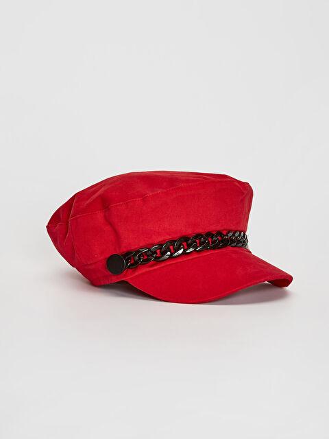 Zincir Detaylı Gabardin Denizci Şapka - LC WAIKIKI