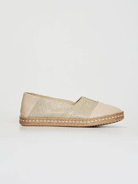 Kadın Parlak Espadril Ayakkabı - LC WAIKIKI