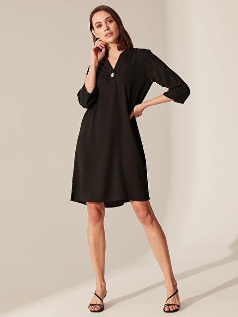 Düğme Detaylı Elbise - LC WAIKIKI