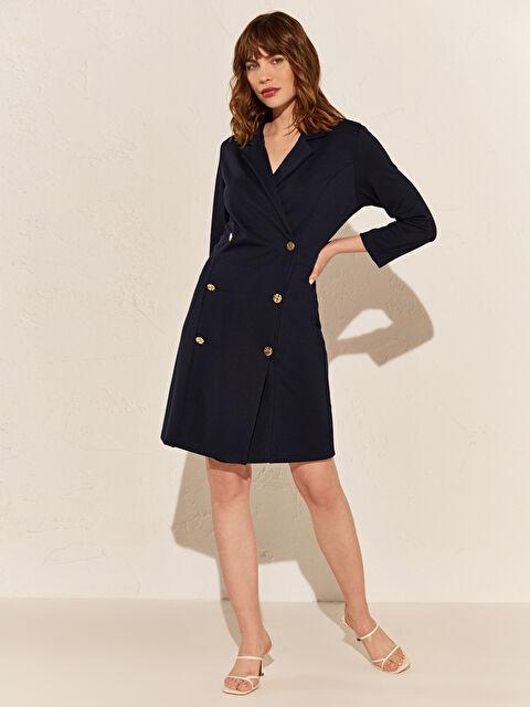 Düğme Detaylı Ceket Elbise - LC WAIKIKI
