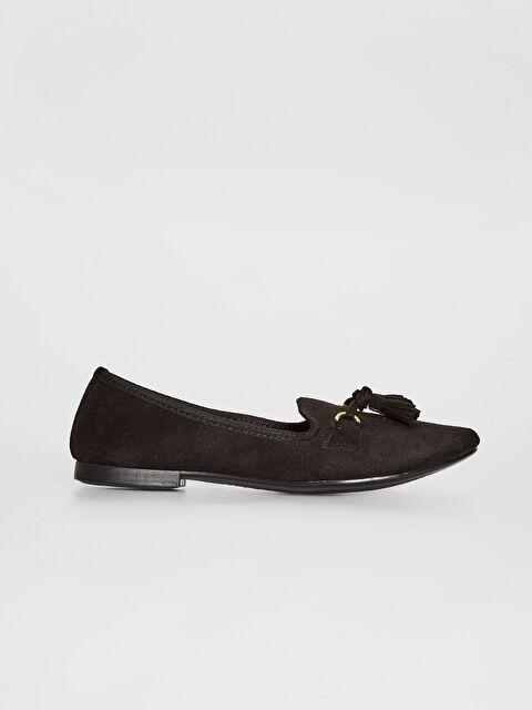 Kadın Püskül Detaylı Babet Ayakkabı - LC WAIKIKI