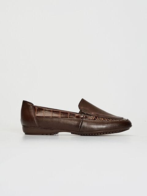 Kadın Kroko Desenli Klasik Şık Ayakkabı - LC WAIKIKI