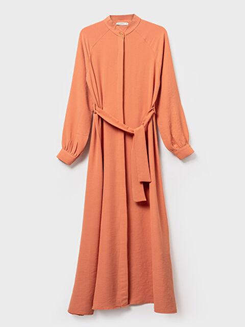 Kuşaklı Düğme Detaylı Elbise - LC WAIKIKI