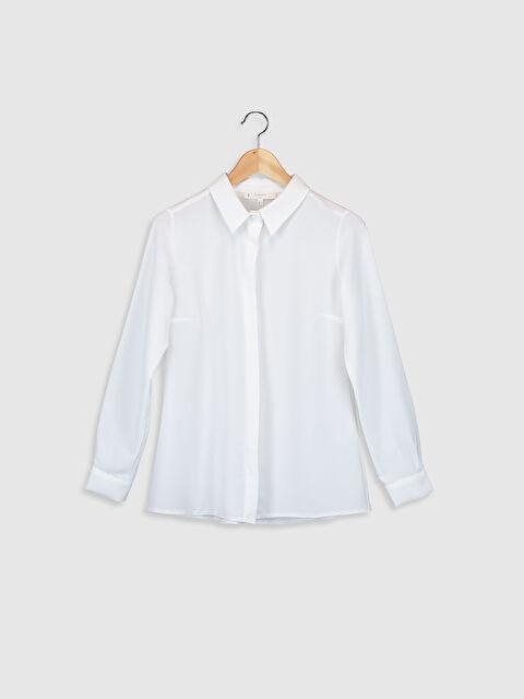 Sateen Düz Klasik Gömlek - Markalar