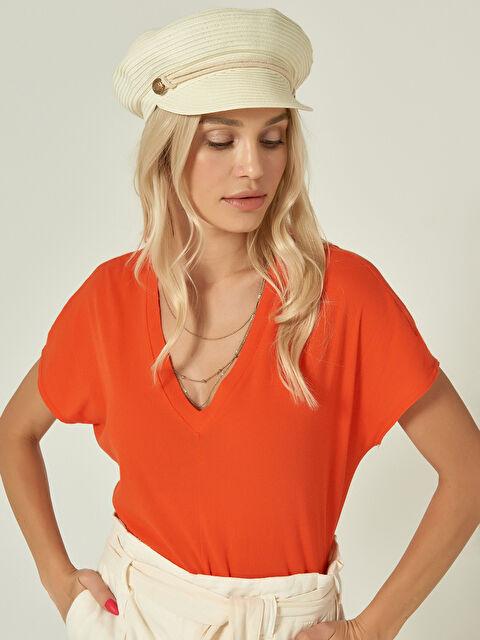 Axesoire Denizci Hasır Şapka - Markalar