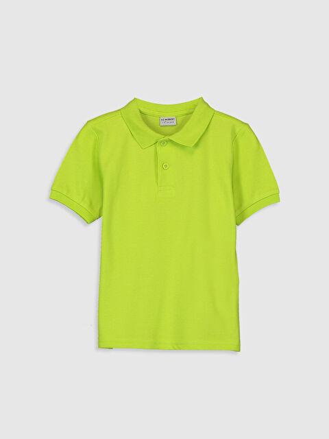 Erkek Çocuk Pamuklu Polo Yaka Tişört - LC WAIKIKI