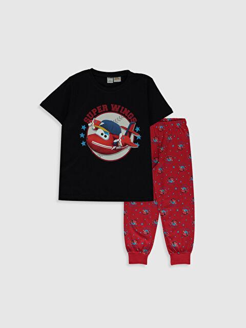 Erkek Çocuk Harika Kanatlar Baskılı Pamuklu Pijama Takımı - LC WAIKIKI