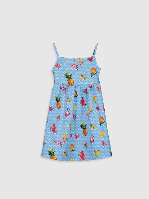 Kız Çocuk Desenli Elbise - LC WAIKIKI
