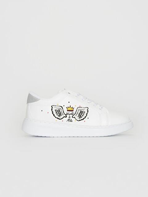 Kız Çocuk Nakış Detaylı Günlük Ayakkabı - LC WAIKIKI