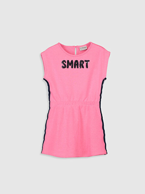 Kız Çocuk Pul İşlemeli Elbise - LC WAIKIKI
