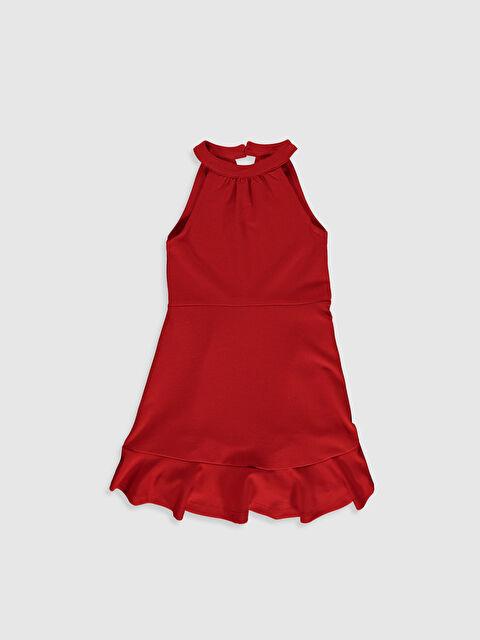 Kız Çocuk Halter Yaka Elbise - LC WAIKIKI