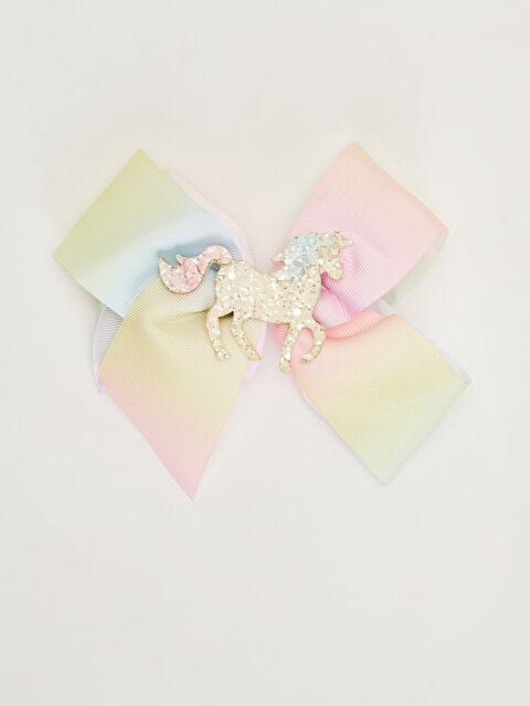 Kız Çocuk Unicorn Detaylı Fiyonk Toka - LC WAIKIKI