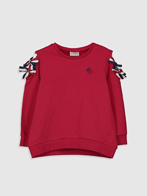 Kız Çocuk Omuz Detaylı Sweatshirt - LC WAIKIKI