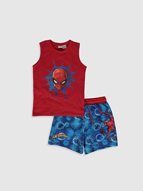 Erkek Çocuk Spiderman Baskılı Yüzme Takım - LC WAIKIKI