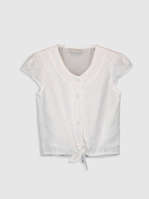 Kız Çocuk Fisto Detaylı Pamuklu Gömlek - LC WAIKIKI