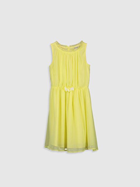 Kız Çocuk Şifon Elbise - LC WAIKIKI
