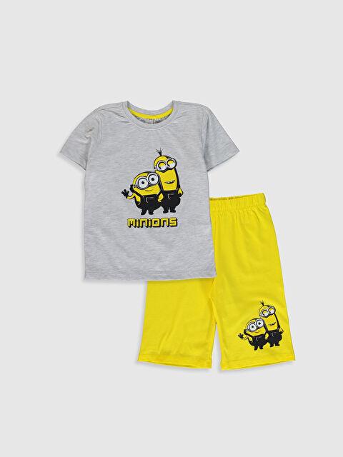 Erkek Çocuk Minions Baskılı Pijama Takımı - LC WAIKIKI