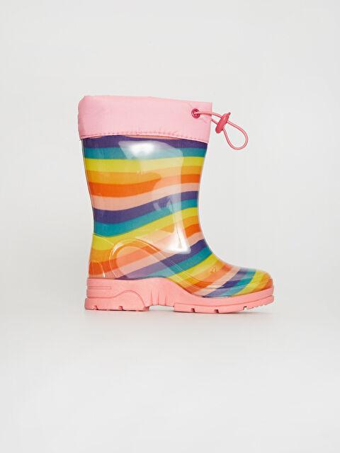 Kız Çocuk Renkli Yağmur Botu - LC WAIKIKI