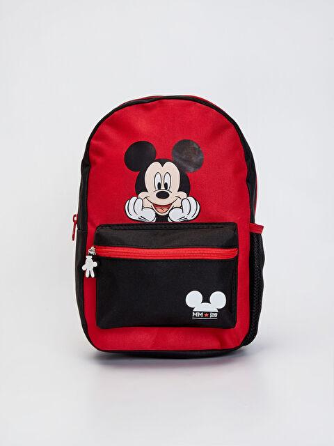 Erkek Çocuk Mickey Mouse Lisanslı Sırt Çantası - LC WAIKIKI
