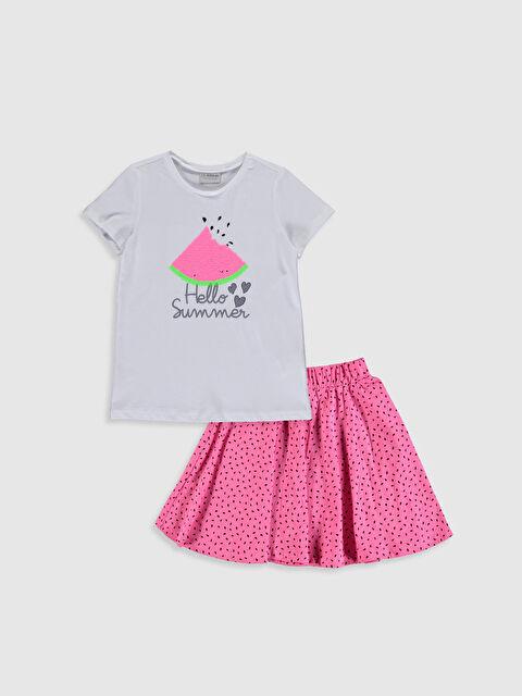 Kız Çocuk Tişört ve Etek - LC WAIKIKI