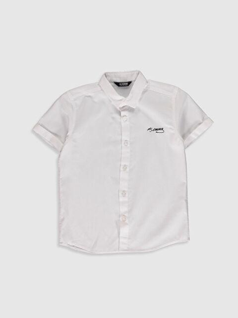 Erkek Çocuk Atatürk İmzalı Gömlek - LC WAIKIKI