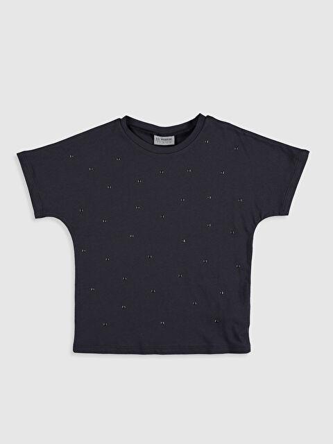 Kız Çocuk Kısa Kollu Pamuklu Tişört - LC WAIKIKI