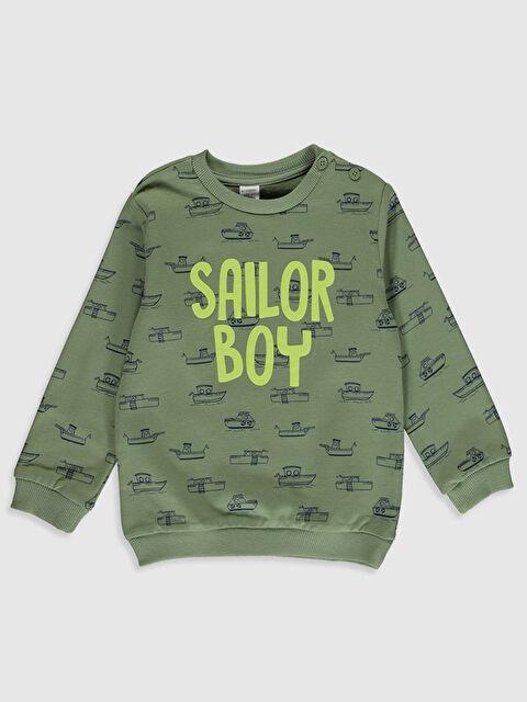 Erkek Bebek Baskılı Sweatshirt - LC WAIKIKI