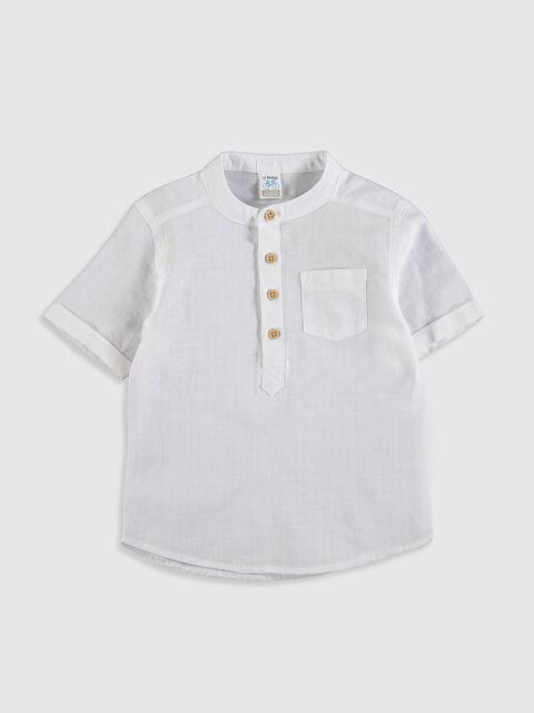 Erkek Bebek Poplin Gömlek - LC WAIKIKI