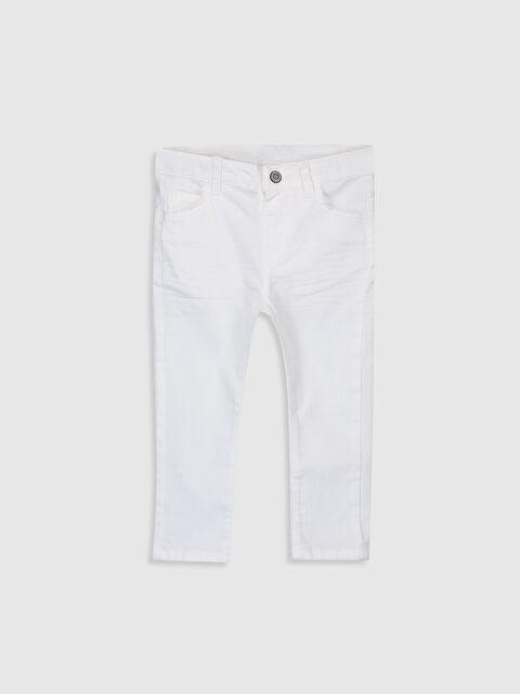Erkek Bebek Slim Fit Gabardin Pantolon - LC WAIKIKI