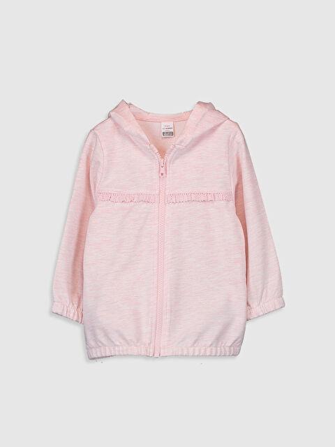 Kız Bebek Kapüşonlu Sweatshirt - LC WAIKIKI