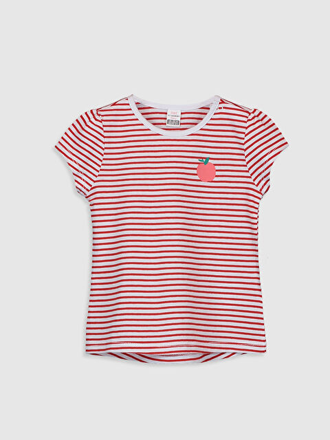 Kız Bebek Pamuklu Tişört - LC WAIKIKI