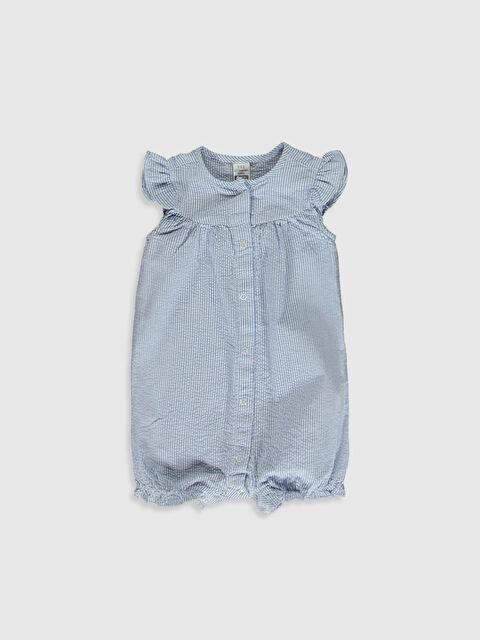 Kız Bebek Çizgili Tulum - LC WAIKIKI